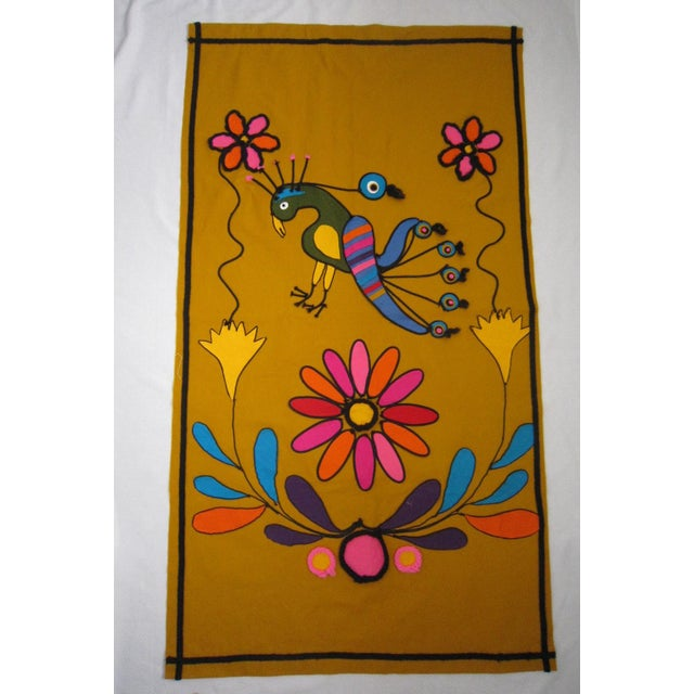 Vintage Mexican Wall Tapestry - Image 2 of 5
