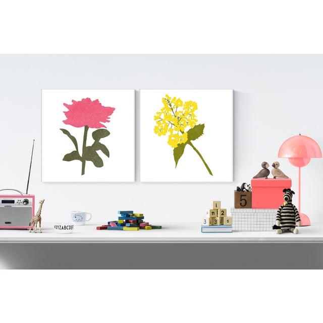 "Jessica Poundstone Boho Chic Floral Fine Art Print #4 - 20"" X 20"" For Sale - Image 4 of 6"