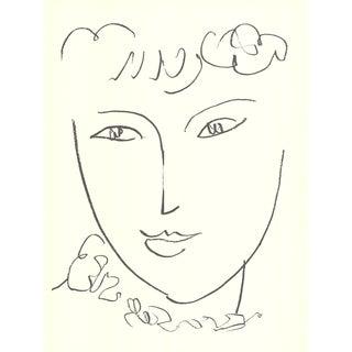 Henri Matisse, La Pompadour (No Text), Edition: 1000, Offset Lithograph, 1992 For Sale