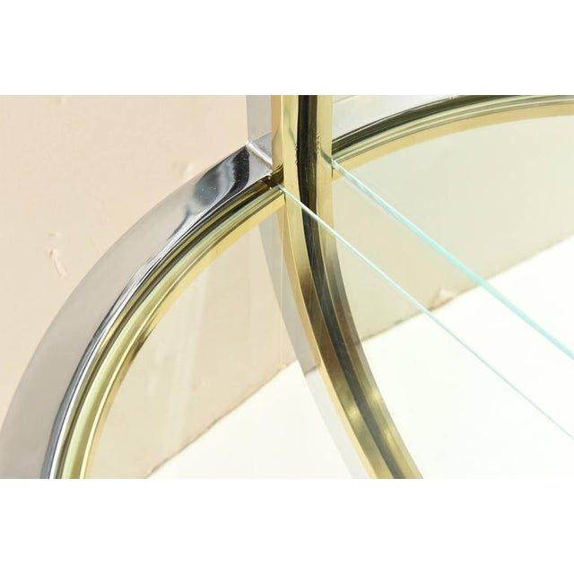 Pace Collection Pace Racetrack Arched Wall Mirror For Sale - Image 4 of 8