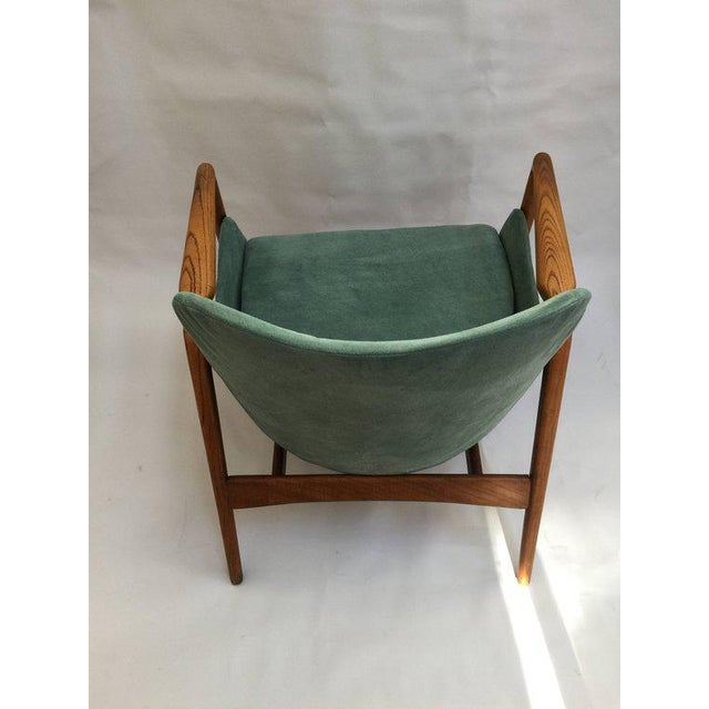 1950s Mid-Century Modern 'Seal' Lounge Chair by Ib Kofod-Larsen For Sale - Image 5 of 11
