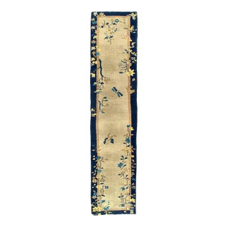 Antique Chinese Art Deco Runner For Sale