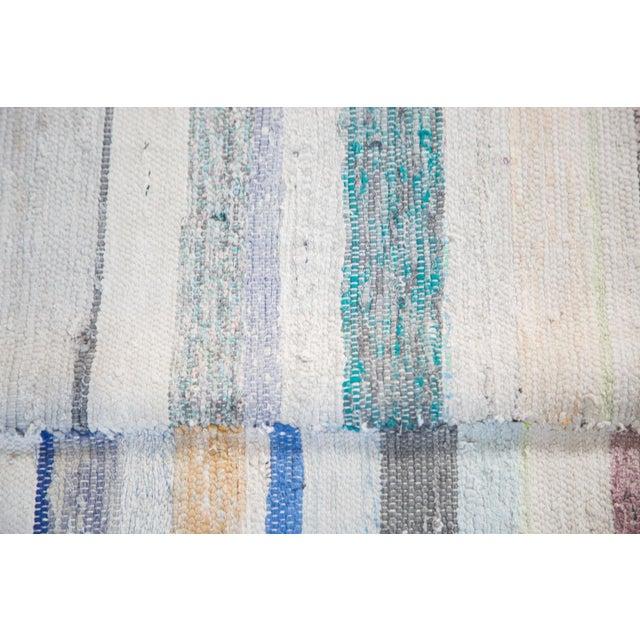 "Vintage Rag Rug Carpet - 6'6"" X 10'10"" - Image 7 of 7"