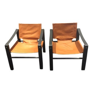 Maurice Burke for Arkana Safari Chair - A Pair