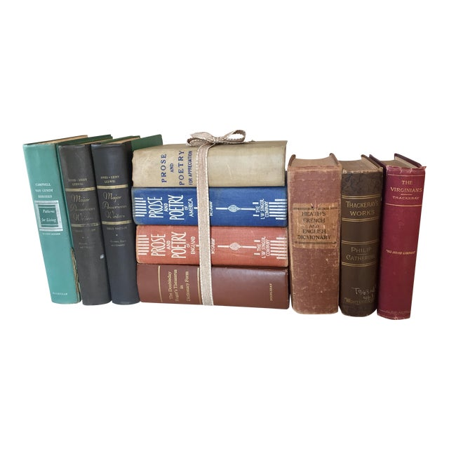 Poetry & Literature Book Collection - Set of 10 - Image 1 of 5