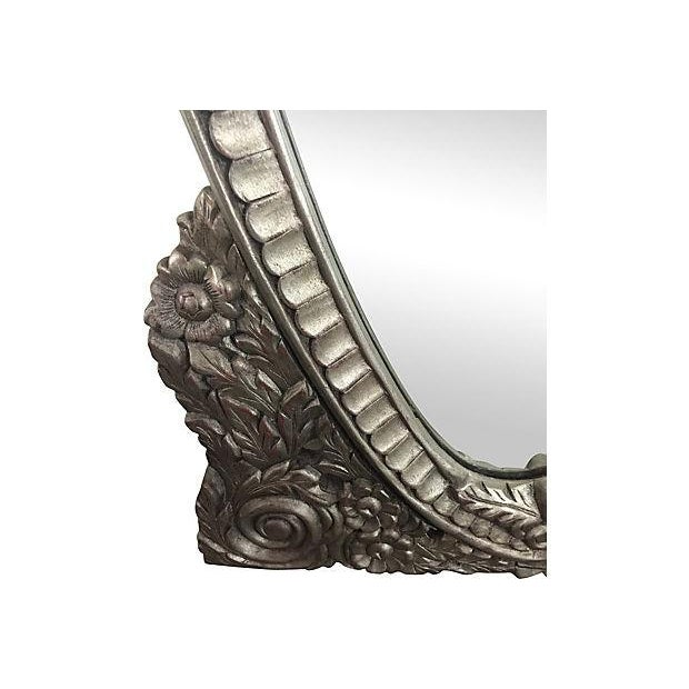 Hand Carved Ornate Mirror - Image 5 of 5