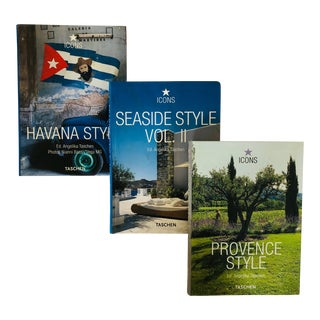 Contemporary Taschen Regional Style Book Trio - Set of 3 For Sale