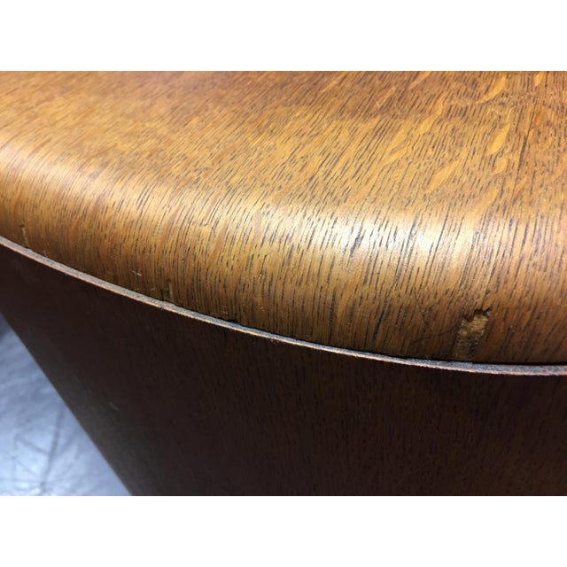 Harris Lebus Vintage Art Deco Tiger Oak Sideboard For Sale - Image 11 of 11