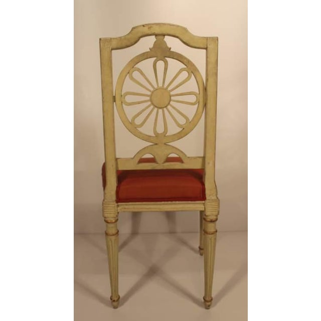 Gustavian (Swedish) 1800s Gustavian Dining Chairs - A Set of 4 For Sale - Image 3 of 6