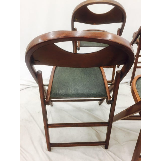 Bentwood Vintage Bentwood Folding Chairs - Set of 6 For Sale - Image 7 of 11
