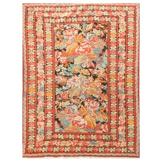 Early 20th Century Antique Caucasian Karabagh Rug - 5′ × 5′11″