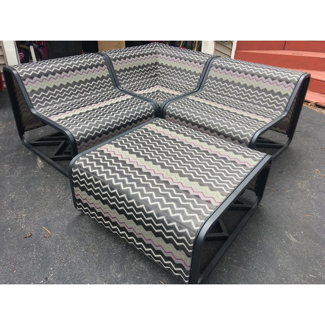 Missoni 4-piece sling patio sectional. This hard-to-find Missoni is a limited for-Target specialty collection that sold...