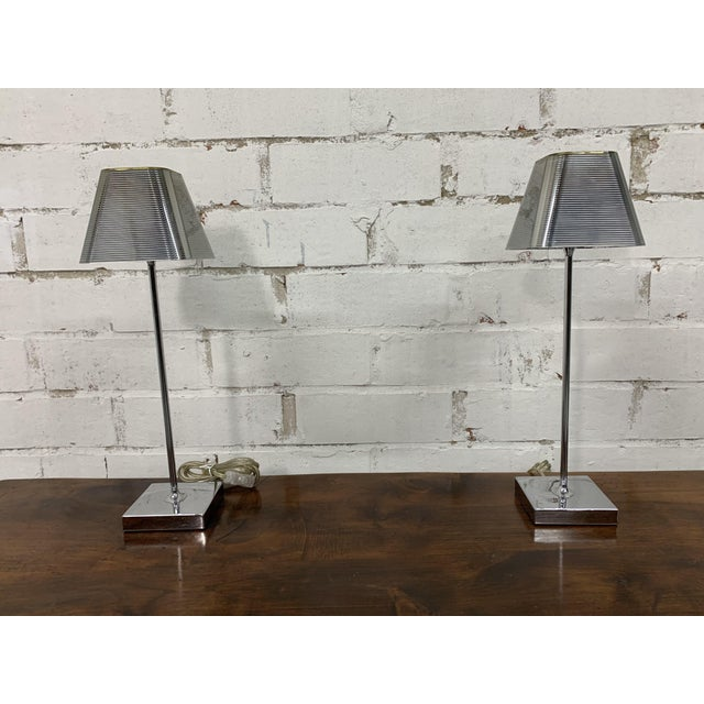 """Mid-Century Modern Vintage """"Igor Paris"""" Table Lamps - a Pair For Sale - Image 3 of 13"""
