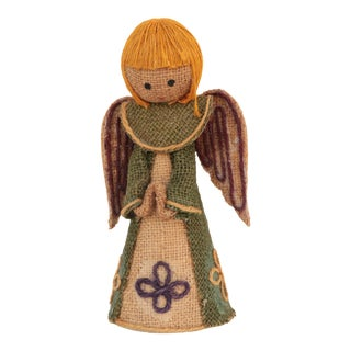 Mid-Century Angel Tree Topper For Sale