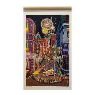 """Return of the Cable Cars"" by Melanie Taylor Kent For Sale"