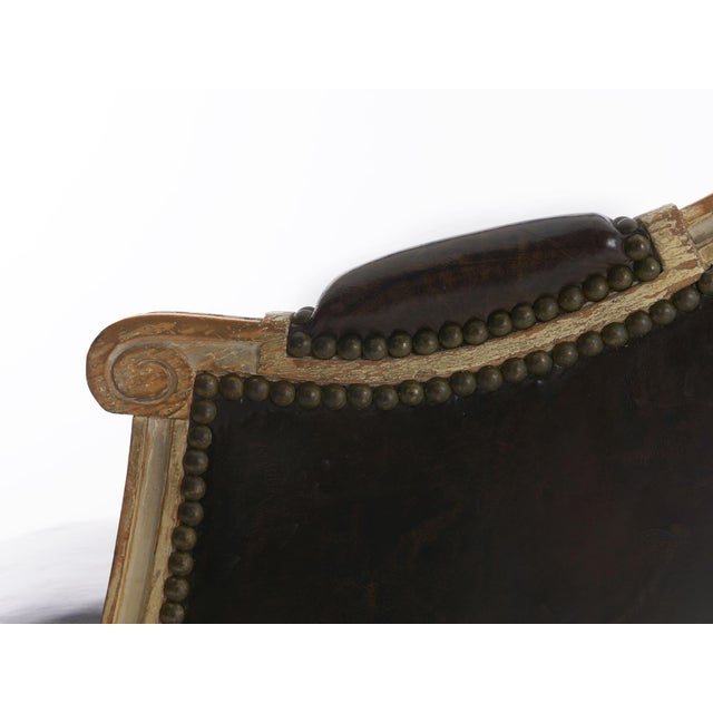 "French Louis XVI Antique ""Duchesse Brisée"" Chaise Lounge, 19th Century For Sale - Image 10 of 13"