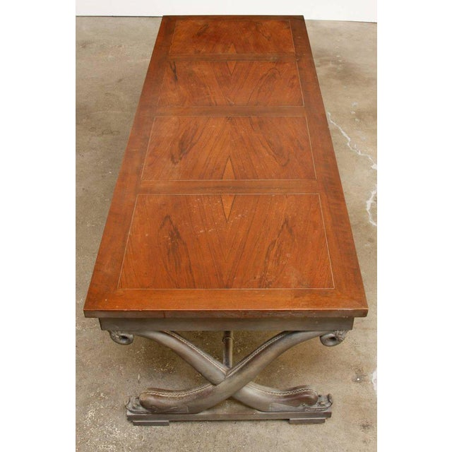 Neoclassical t.h. Robsjohn-Gibbings Neoclassical Cocktail Table for Baker For Sale - Image 3 of 13
