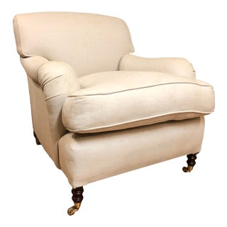 George Smith Standard Arm Chair For Sale