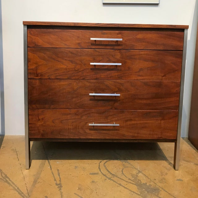 Mid 20th Century Paul McCobb Walnut Dresser for Calvin For Sale - Image 5 of 5