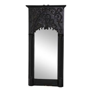 Swedish 19th Century Gothic Mirror For Sale