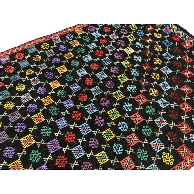 Turkish Handmade Naturel Kilim Rug - 4′11″ × 7′9″ For Sale - Image 10 of 11