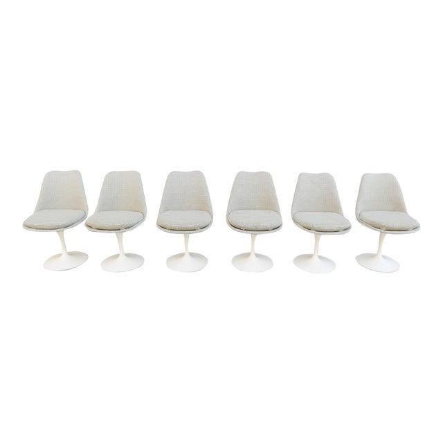 Vintage Modern Knoll Saarinen Tulip Side Chairs - Set of 6 For Sale