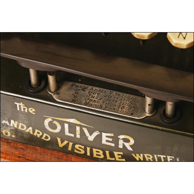 Vintage Oliver No 3 Typewriter With Case & Instructions - Image 10 of 11