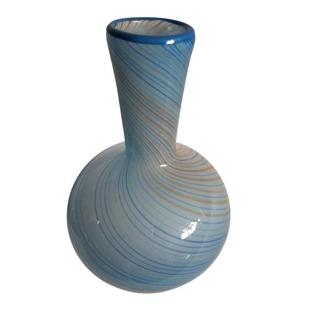 Dansk Swirl Art Glass Vase Chairish