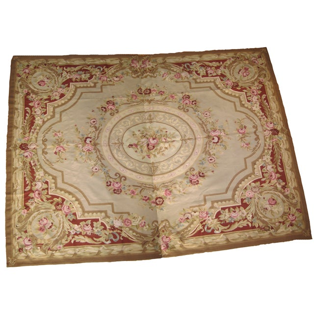 "French Aubusson Rug - 8' x 10"" - Image 1 of 9"