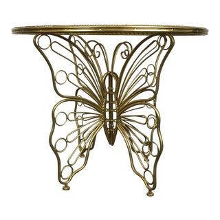 Vintage 3d Butterfly Table