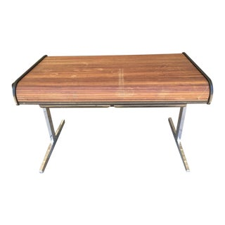 1960s Mid-Century Modern George Nelson for Herman Miller Roll Top Desk For Sale