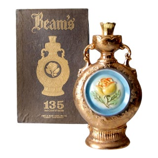 1978 Jim Beam 135 Months Regal China Corporation Bottle and Box - Set of 2 For Sale