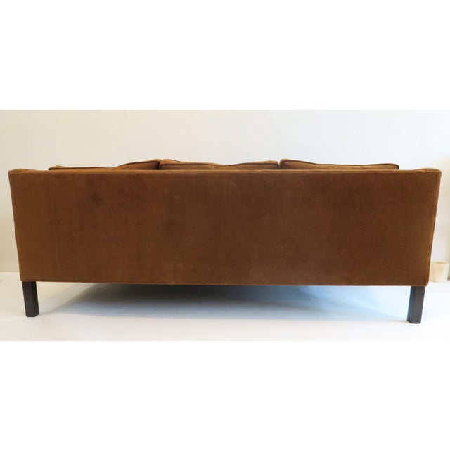 Custom Modern Thin Arm Sofa For Sale - Image 4 of 8