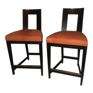Modern Donghia Margarita Counter Chairs- A Pair For Sale