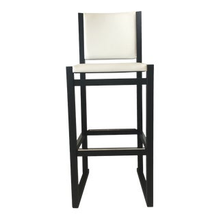 B&b Italia Musa Black Oak Barstool