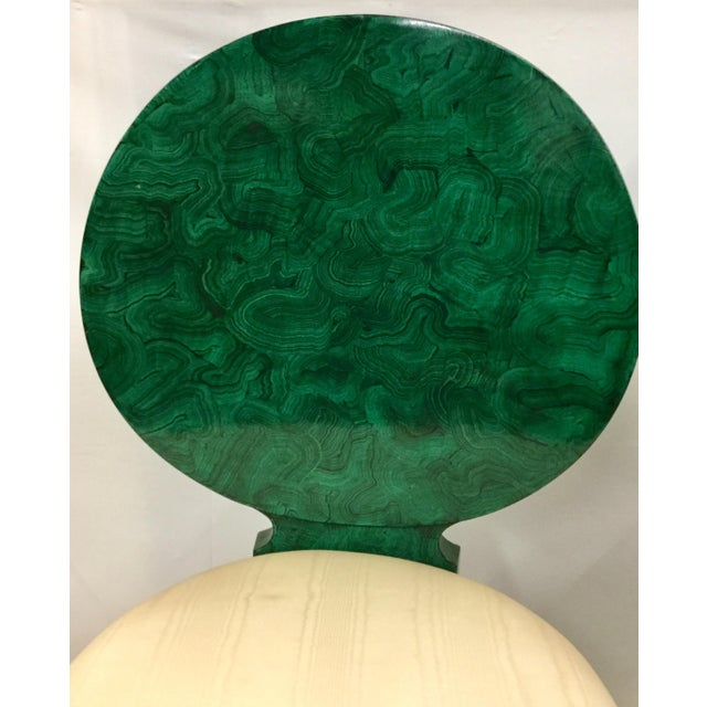 1980s Vintage Maitland Smith Faux Malachite Cocktail Set- 3 Pieces For Sale - Image 12 of 13
