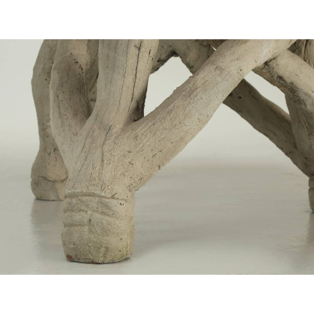 Faux Bois Table Attributed to Edouard Redont, Circa 1900 For Sale - Image 9 of 10