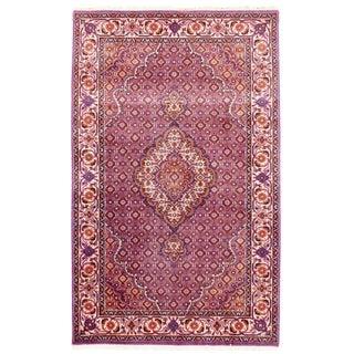 """Traditional Pasargad N Y Fine Tabriz Mahi Design Silk & Wool Rug - 3' X 4'10"""""""