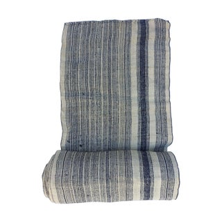 Striped Roll of Tribal Linen Fabric