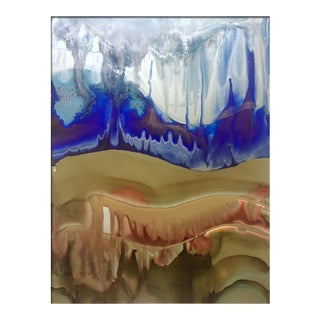 'EARTH+SKY' original abstract painting