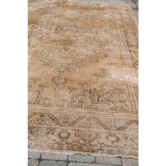 "Vintage Oushak Carpet - 6'10"" x 11'2"" - Image 5 of 6"