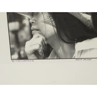 Black & White Portrait of a Young Woman, Signed Photography Preview