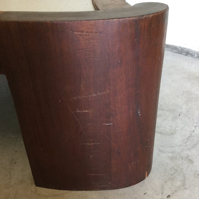 Mid Century Modern Walnut Coffee Table For Sale - Image 10 of 13