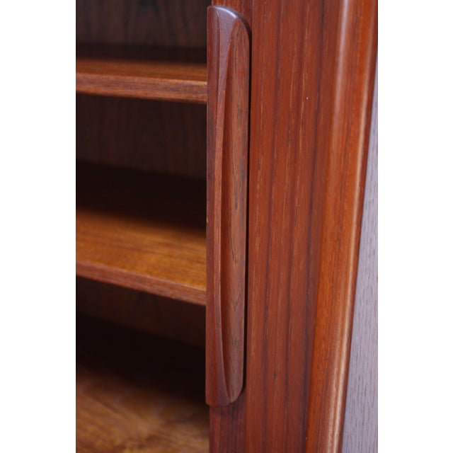Brown Danish Teak Credenza by Ib Kofod-Larsen for Faarup For Sale - Image 8 of 13