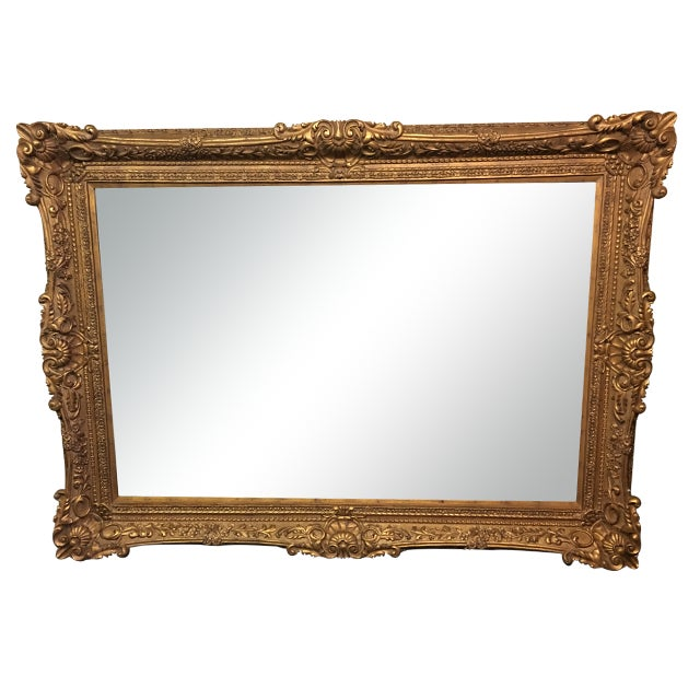 Carved Gilt Wall Mirror - Image 1 of 10