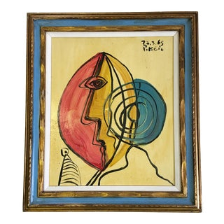 "1995 Peter Robert Keil ""Self Awareness"" Painting For Sale"