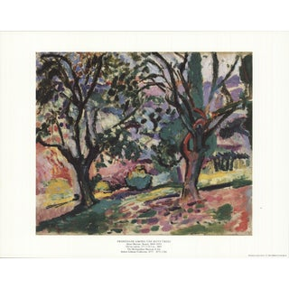 1991 Henri Matisse 'Promenade Among the Olive Trees' Usa Offset Lithograph For Sale