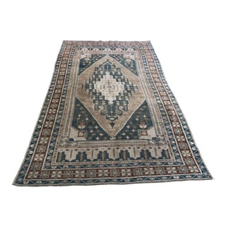 Oversize Bohemian Turkish Wool Carpet For Sale