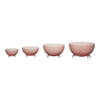 Narcissus Nesting Bowls, Salmon For Sale