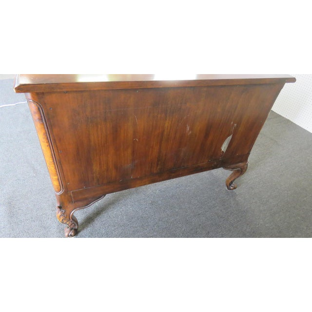 Wood Victorian Style Commode For Sale - Image 7 of 11